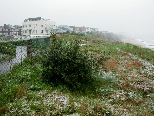 Southbourne Overcliff, snowfall
