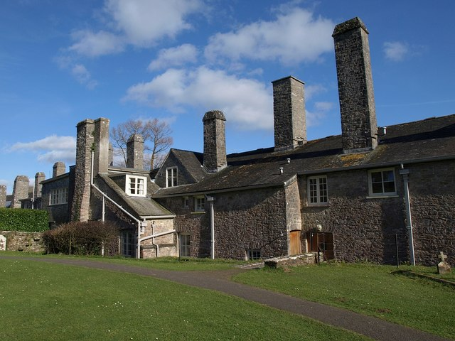 Chimneys, Dartington Hall