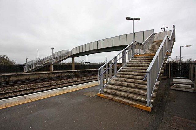Headcorn Station - Bridge over line