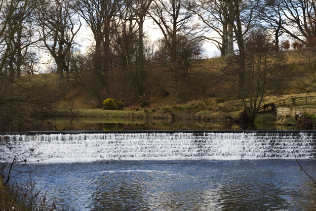 Weir on the Aln