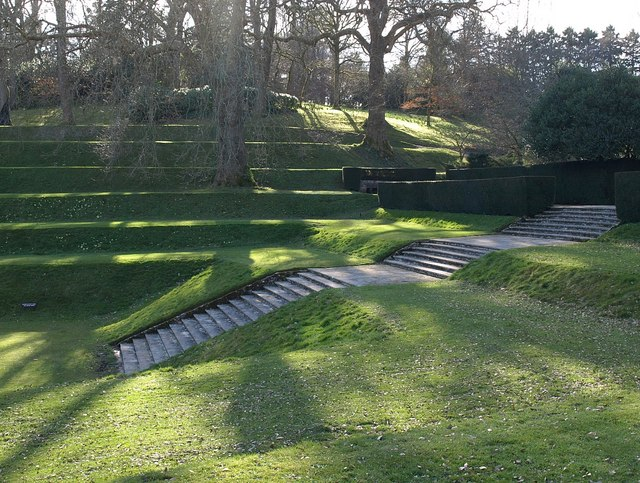 Terraces, Dartington
