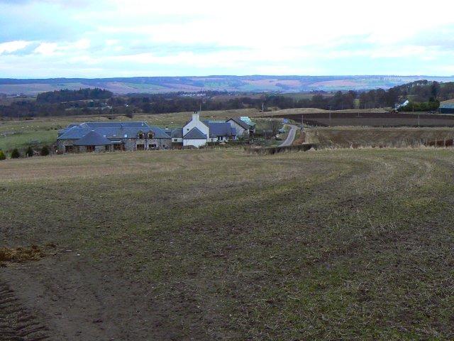 Looking down on Lochee