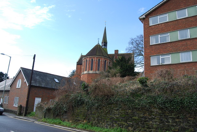 St Matthew's Church from London Rd