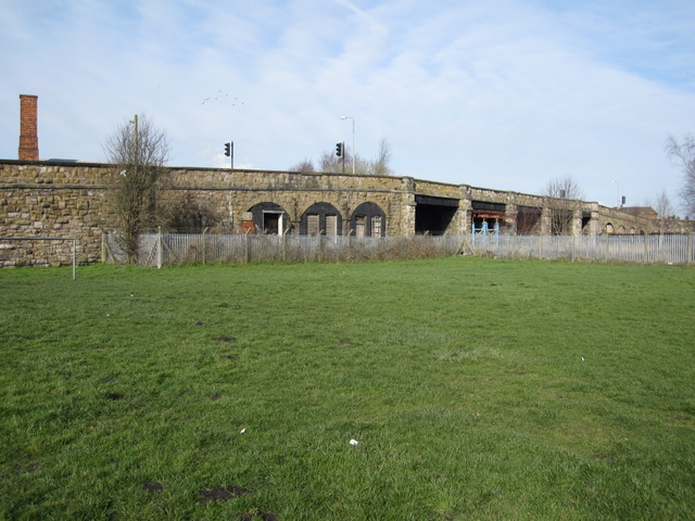 Mold Junction railway bridge