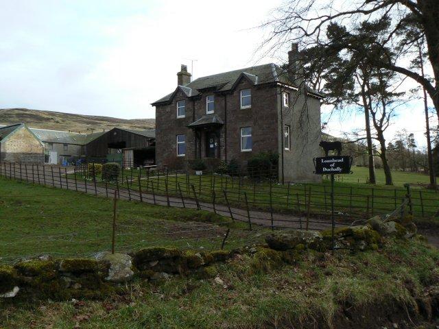 Loanhead of Duchally farmhouse