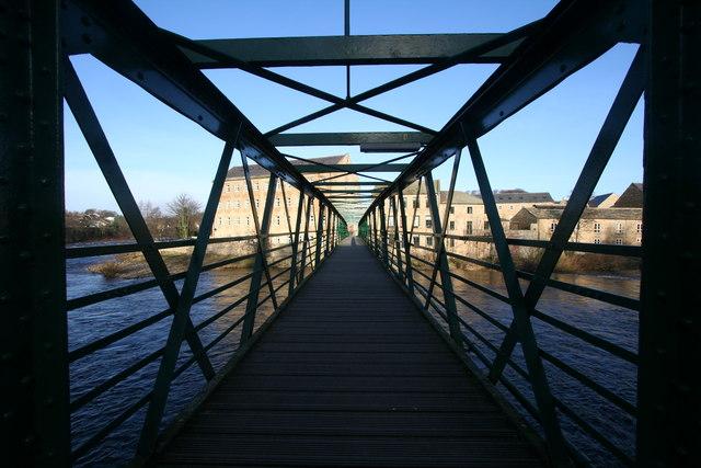 Tees Footbridge, Thorngate
