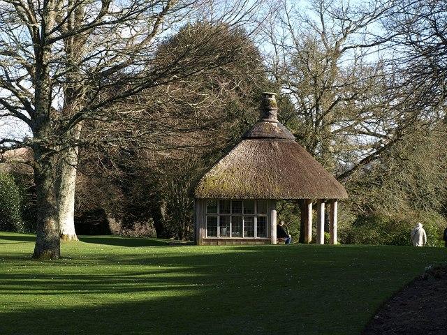 Summer house in winter, Dartington