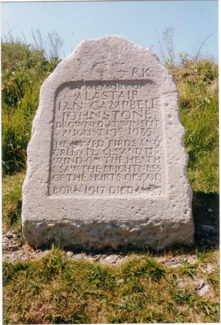 Memorial at Winspit