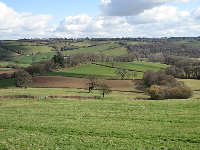 View across the Monnow Valley