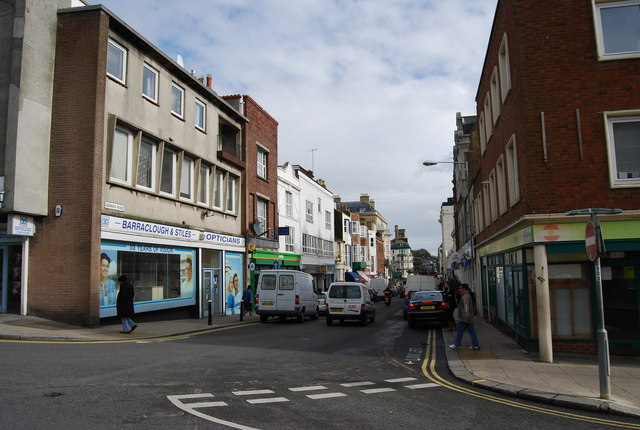 Norman Rd, St Leonards, looking East