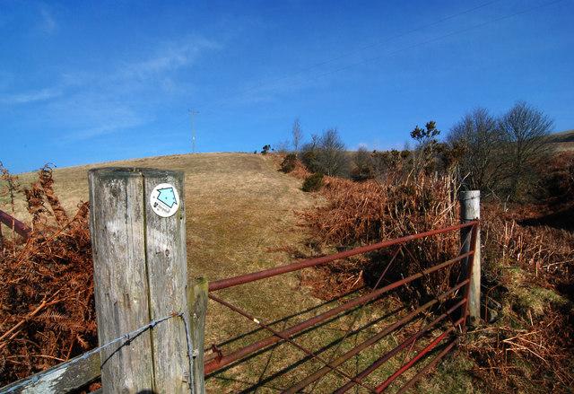 Land near Cwm Moch