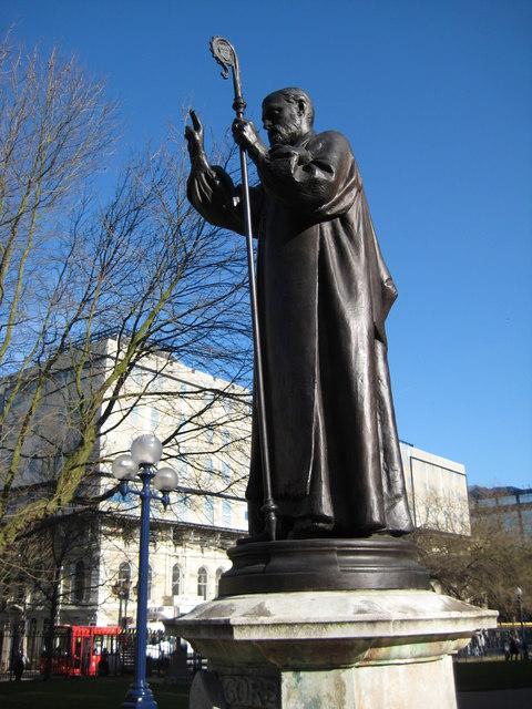 Statue of Bishop of Birmingham