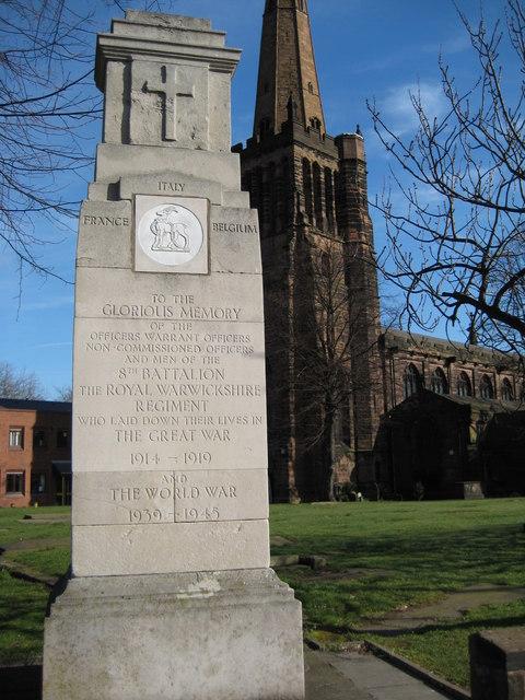 War Memorial in Aston