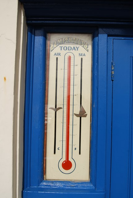 Temperature Today, Hastings Weather Station