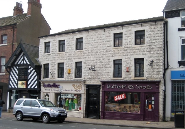 Butterflies Shoes shop, 57, Northgate