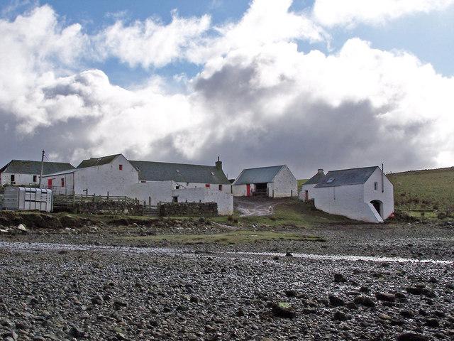 Gesto Farm buildings