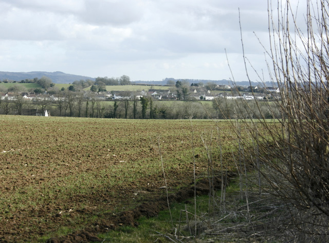 2009 : Looking east near Nunney