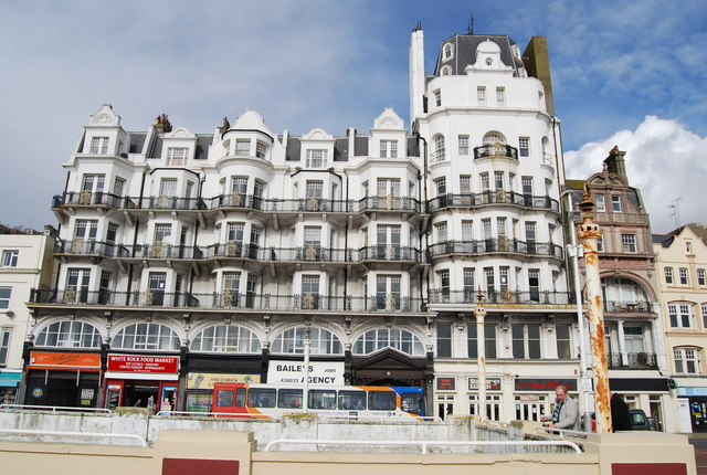Palace Court, Hastings Seafront