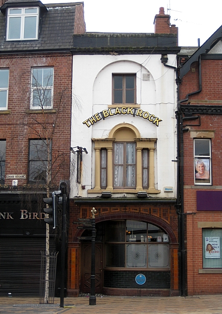 No 19 Cross Square, The Black Rock Public House