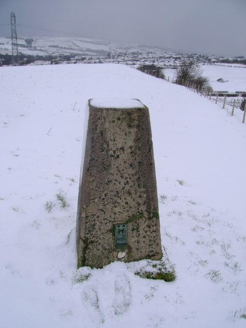 Neilstonside Hill trig point
