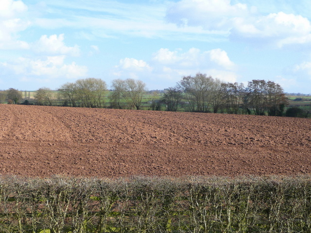 Ploughed field east of Ross-on-Wye