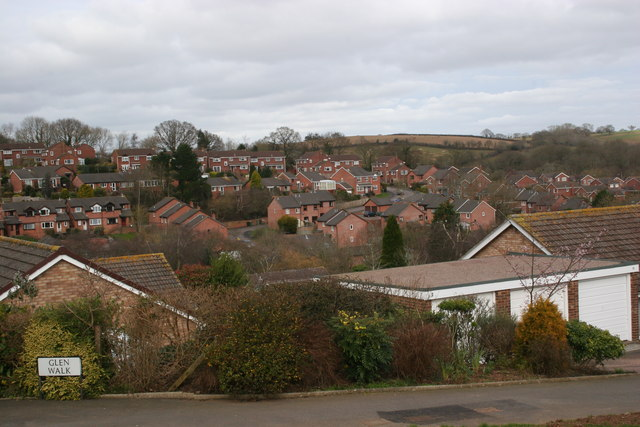 The view from Glen Walk