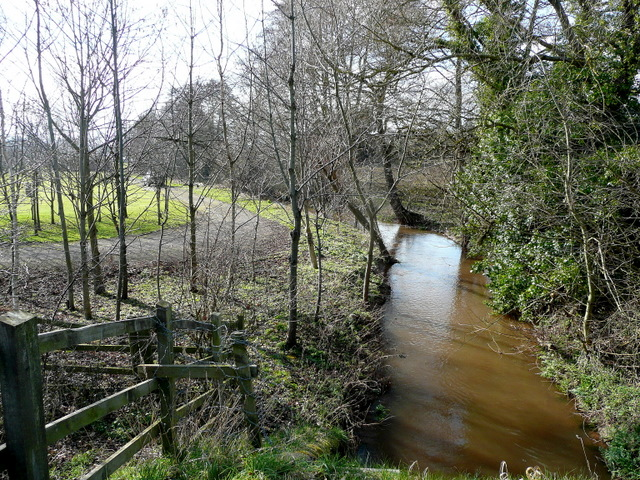Rudhall Brook - downstream