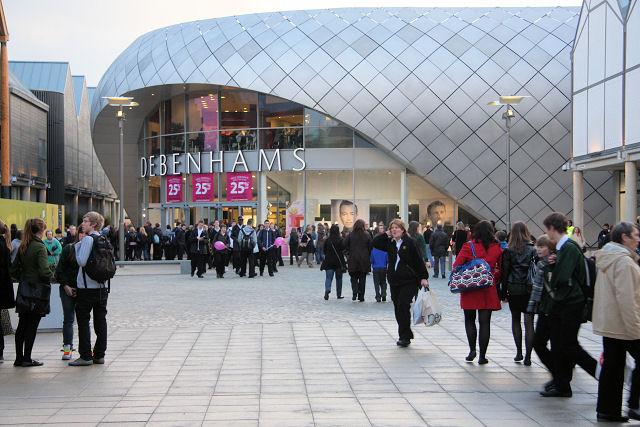 New shopping centre, Bury St Edmunds