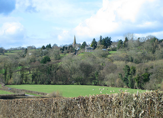 View towards Grosmont