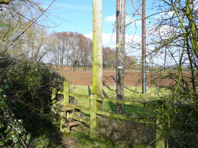 Stile east of the A40