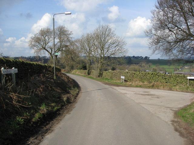 Windmill Lane becomes Pendleton Lane