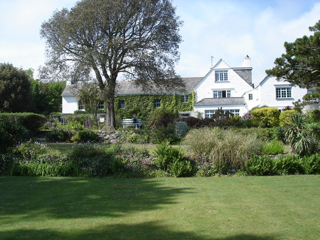 Talland Bay Hotel and gardens