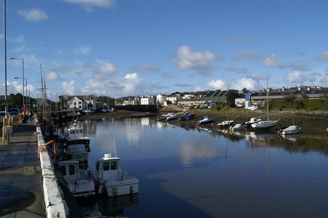 Inner harbour, Ramsey - western arm