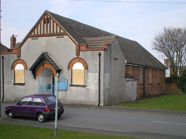 The former St Cuthbert's Mission Church