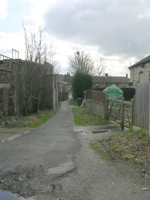 Footpath - Healey Lane