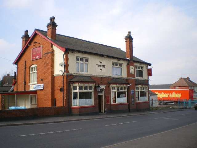 The Three Cups pub
