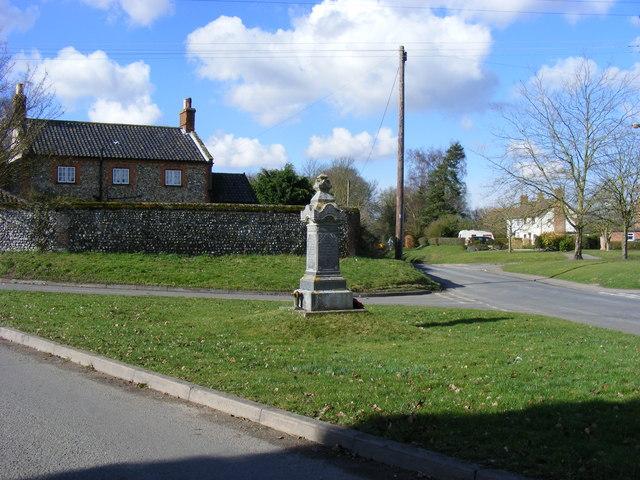 War Memorial, Barnham