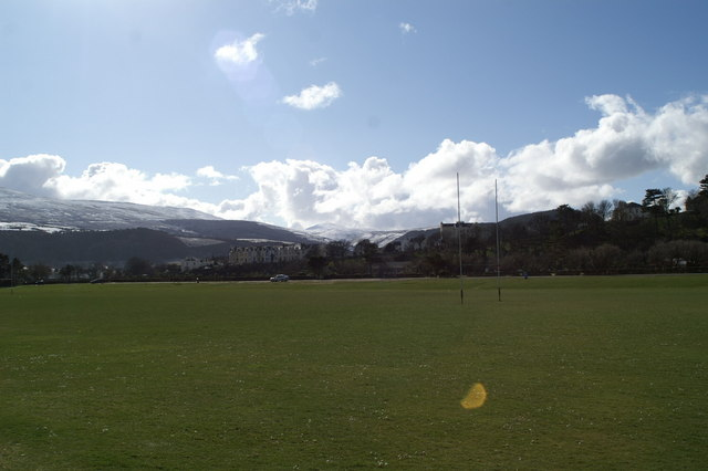 Rugby pitch, Mooragh Park, Ramsey