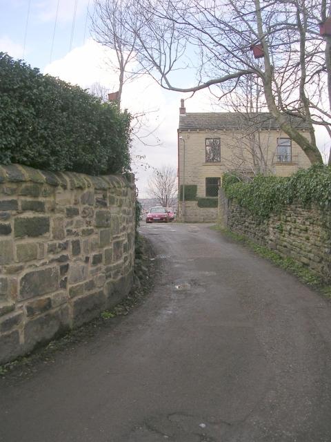 Footpath - Towngate Road