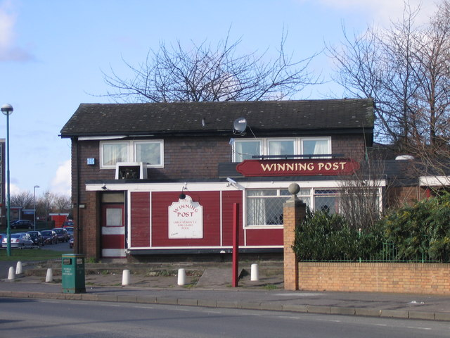 The Winning Post Pub. Great Francis Street - Duddeston Birmingham