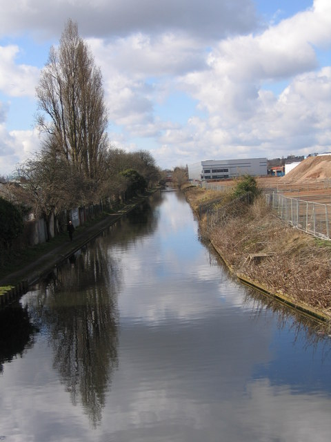 Birmingham & Fazeley Canal from Chester Road, Tyburn