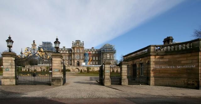 Bowes Museum main entrance
