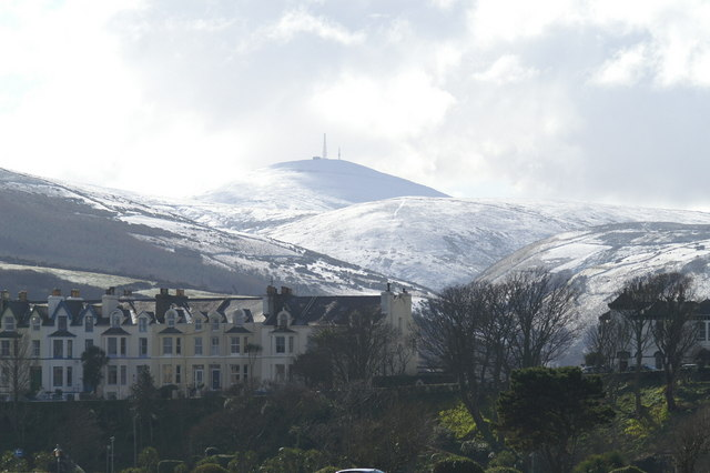 Snaefell from The Mooragh, Ramsey