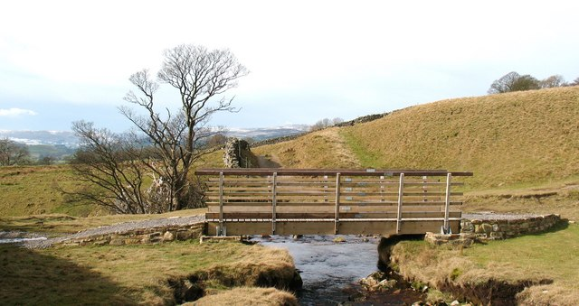 New Bridge above Disher Force