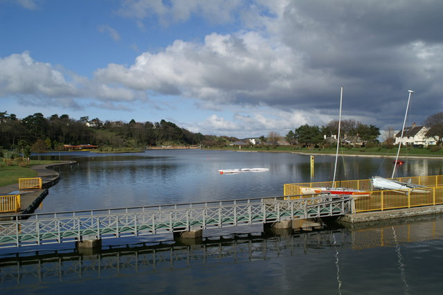 Boating Lake, Mooragh Park, Ramsey