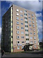 SP1292 : Little Hill House Flats, Hayes Grove Erdington by Roy Hughes