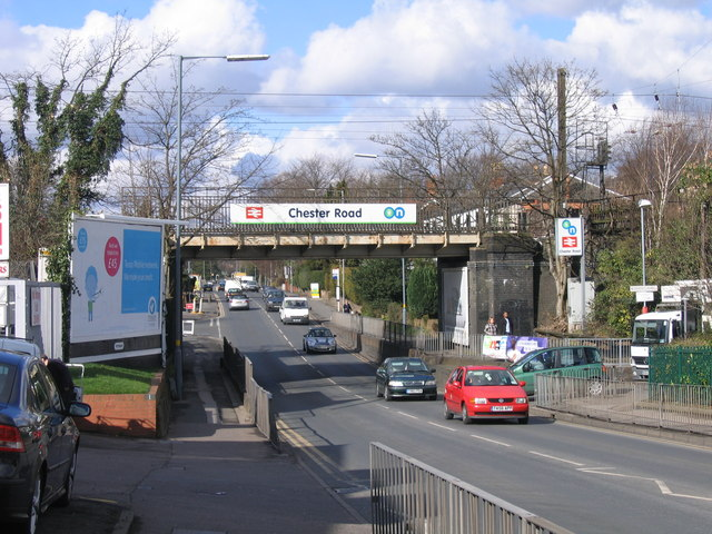 Railway Bridge over Chester Road, Erdington.