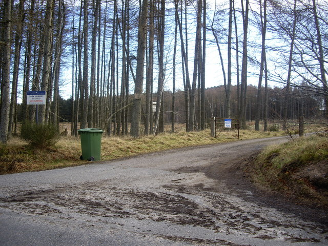 Access to Gask Quarry