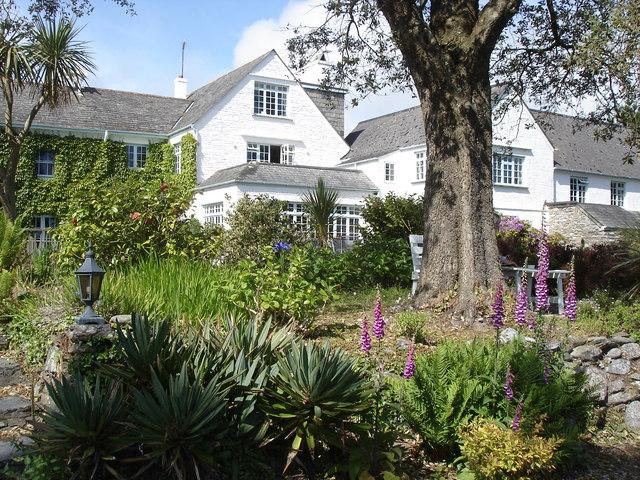 Talland Bay Hotel and garden