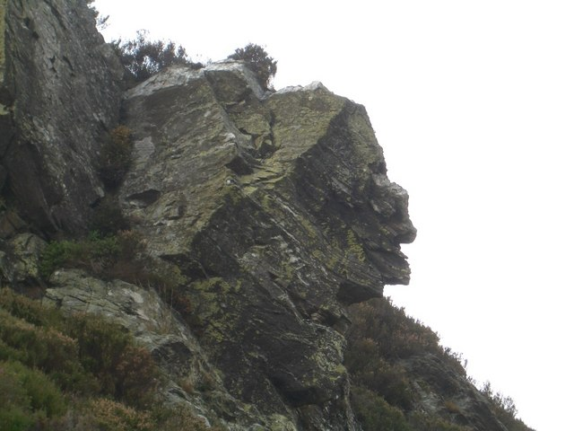 Face in the Rock, Buckny Burn